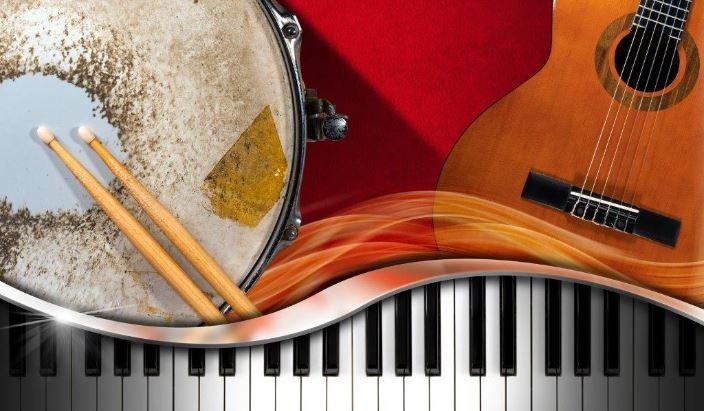 Verschiedene Instrumente schmal